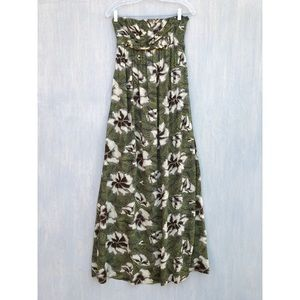 Anthropologie Edme & Esyllte Cultivated Maxi Dress
